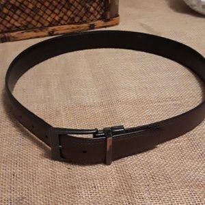 men's dickies black/ brown size 32 belt